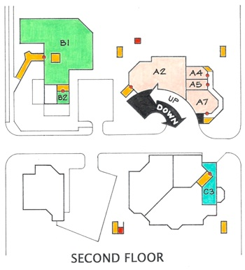 Pringle Map Second Floor